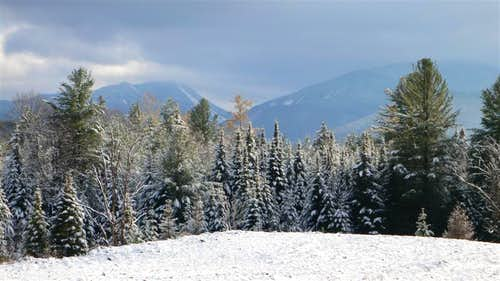 MacIntyre Range from the Adirondack LOJ road!