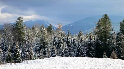 MacIntyre Range from the Adirondack LOJ road!