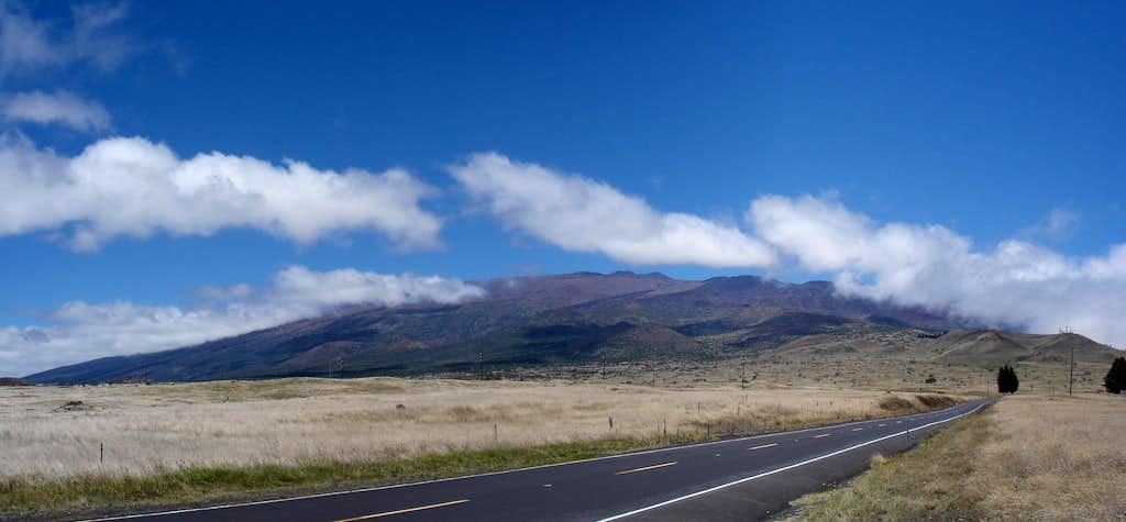 Mauna Kea from the Saddle