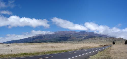 Mauna Kea from the Saddle