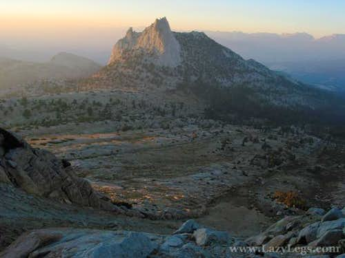 Cathedral Peak from Echo...