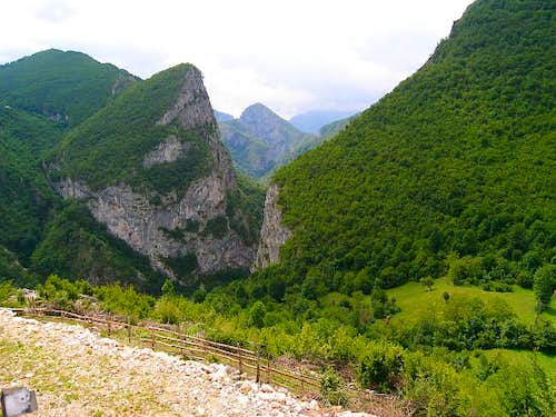Rakitnica canyon