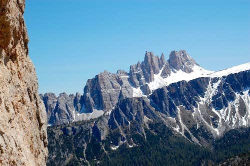 The views from Cinque Torri 'Via Miriam'