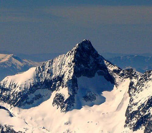 Impressive shape:Pic du Clapier du Peyron 3169m