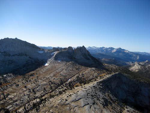 Echo Ridge and Echo Peaks