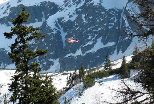 Rescue Works In Tatra Mountains