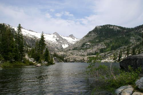 Lower Canyon Creek Lake