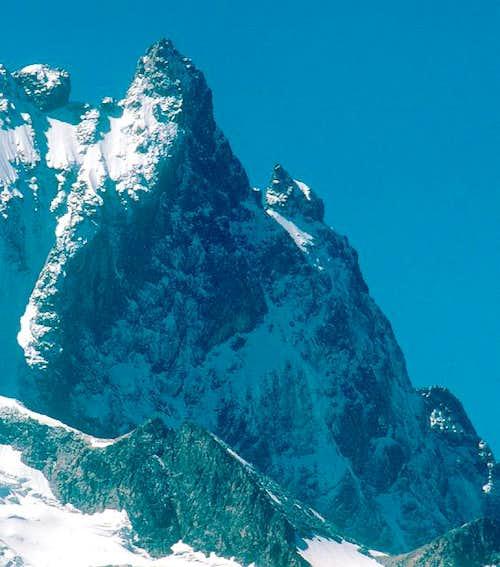 La Meije Grand Pic north face...