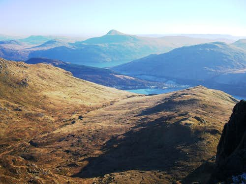 Ben Lomond From the Cobbler