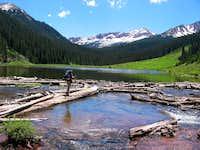 Snowmass Creek Log Jam