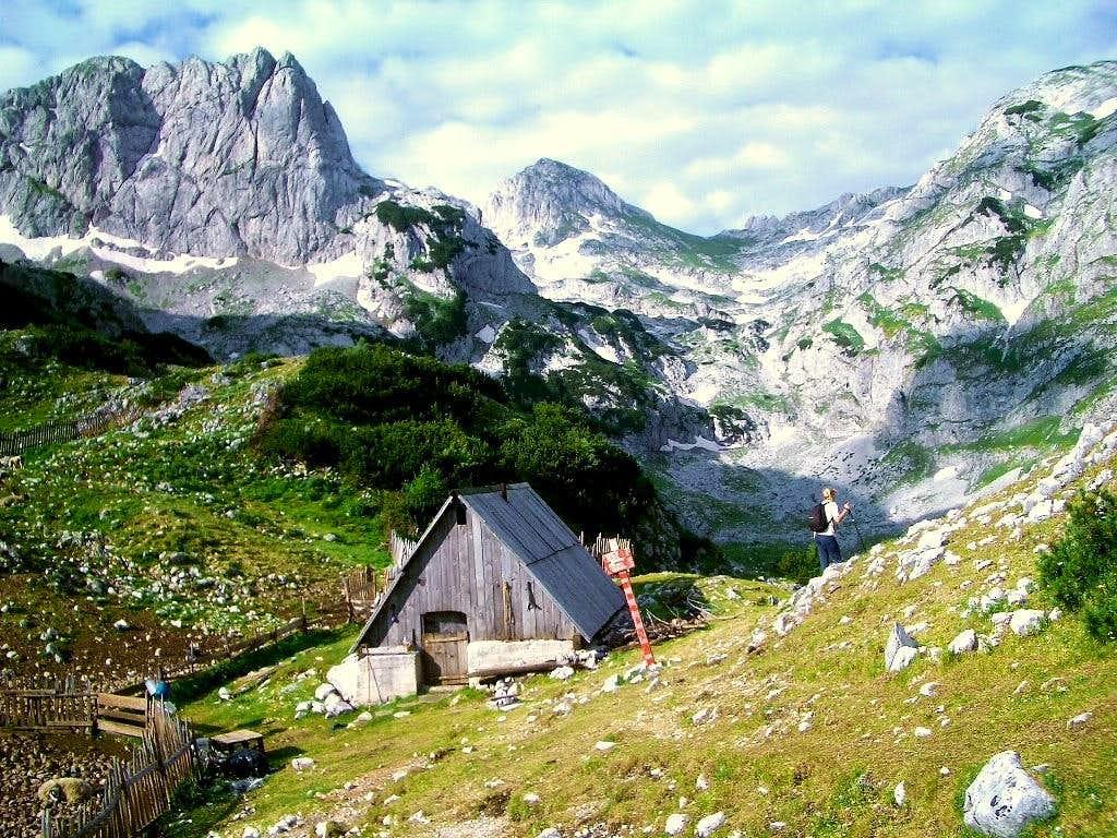 Way to Bobotov Kuk (2522m)  from Zabljak