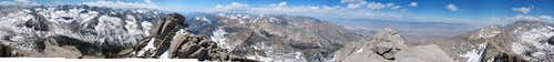 University Peak 360 Panorama