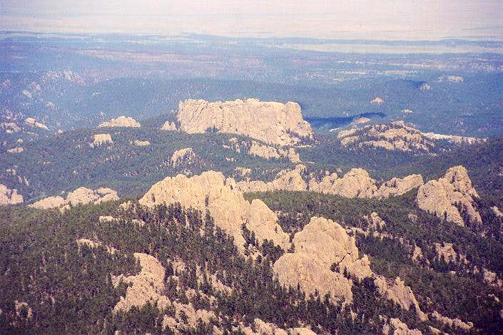 The back side of Mt. Rushmore...