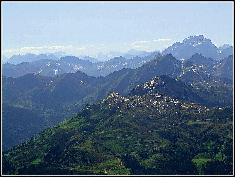 Hochwipfel panorama