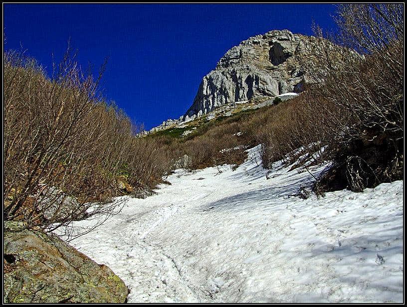 Hochwipfel descent