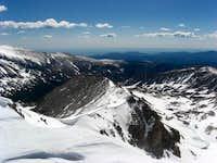 East Ridge from Jasper summit