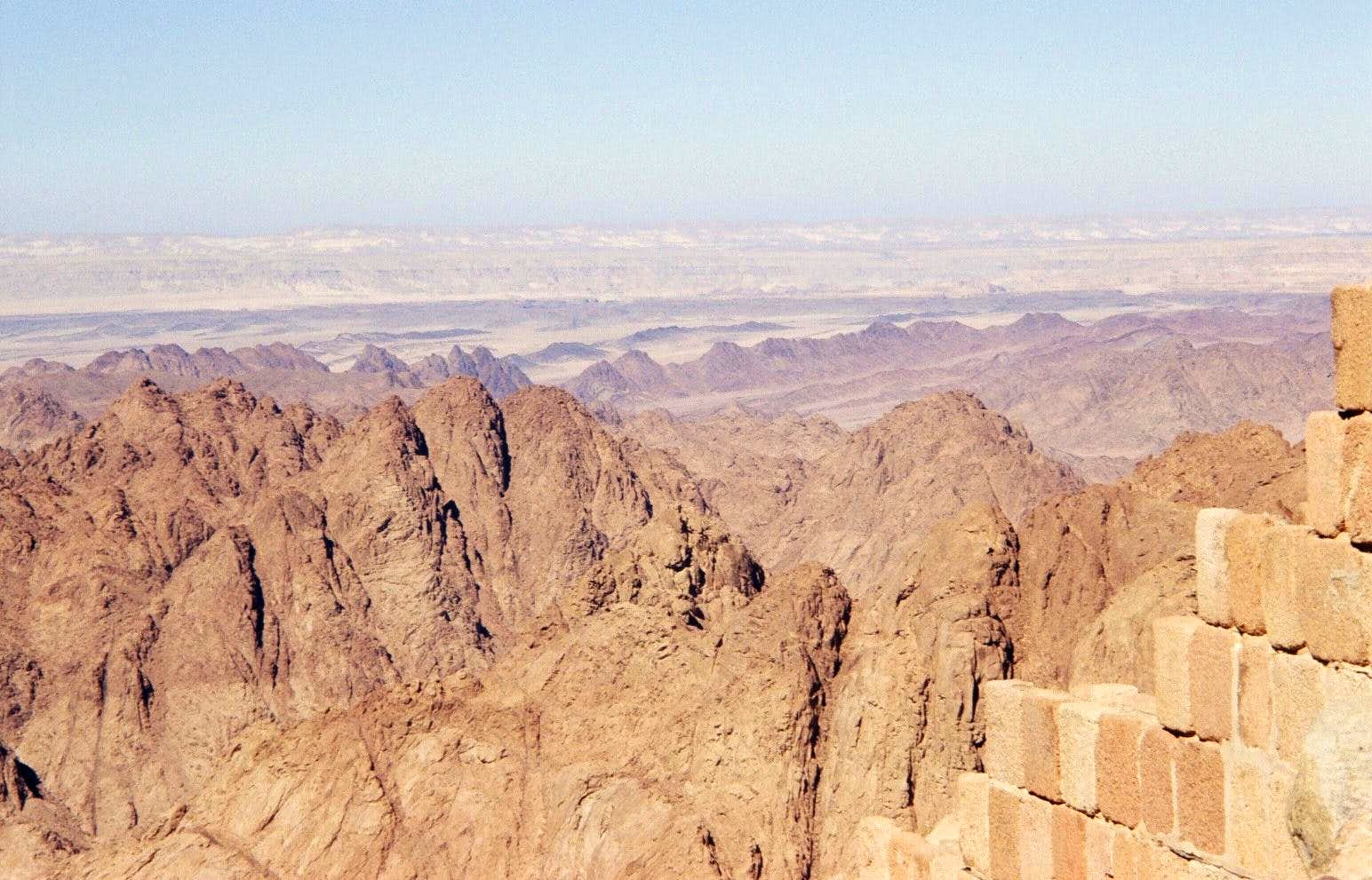 Experiences in Sinai High Mountain Range