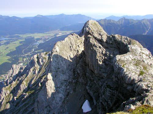 Westlische Karwendelspitze