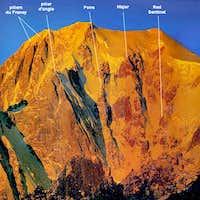Mont Blanc - Brenva wall