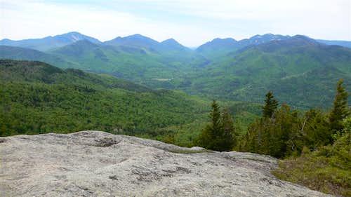On the summit of Hopkins Mountain