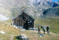 Old Chambeyron hut 30 years...