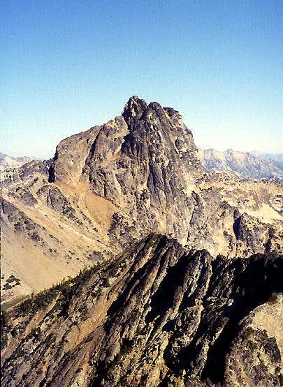 Cutthroat Peak from the SSW