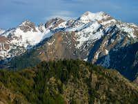 Triple Traverse Peaks from Mt. Olympus