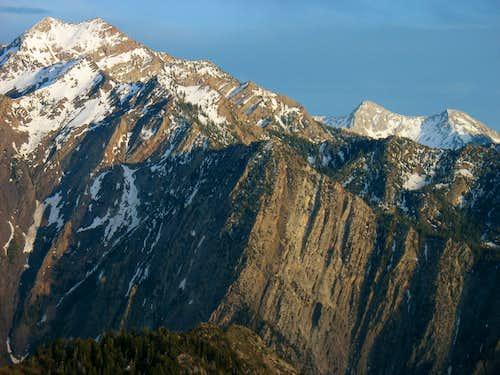 Twin Peaks, Storm Mountain, & Pfeifferhorn