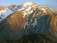 Sunset on Broads Fork Twin Peaks