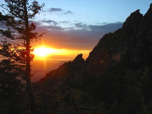 Mt. Olympus sunset