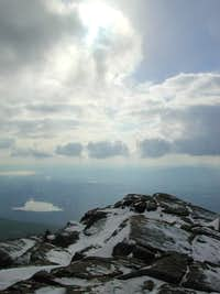 View from the summit December...