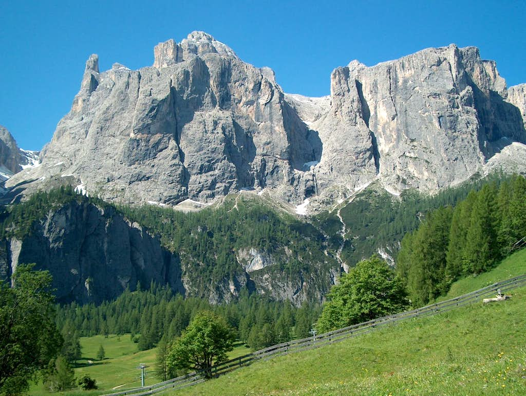 Sella from the North