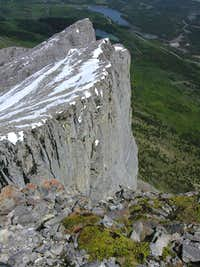Summit view - Yamnuska