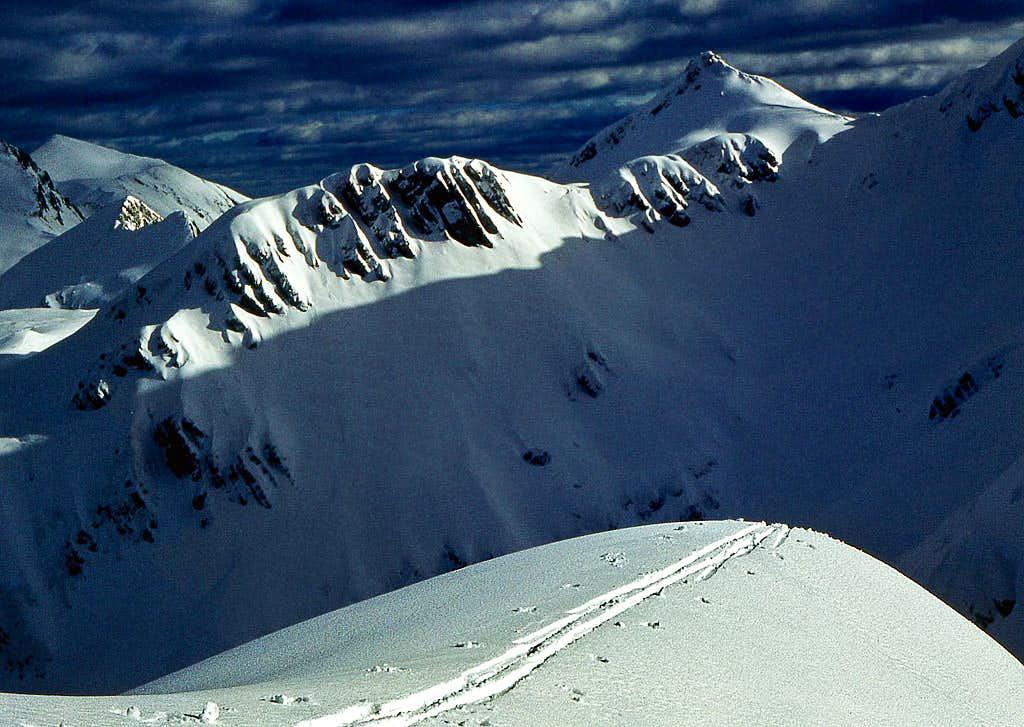 On the ski tour to Vogel