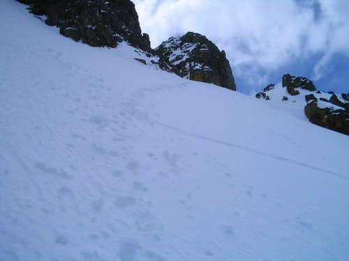 Nearing the Couloir