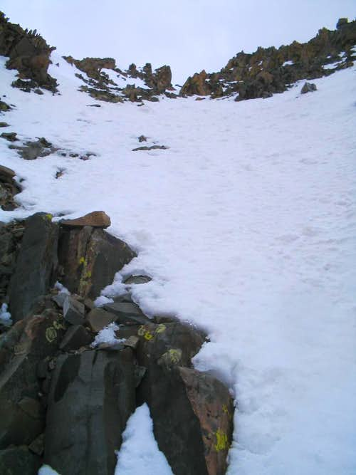 Looking up the Crux pitch