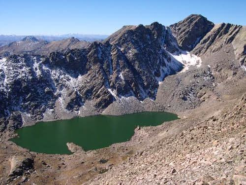 Upper Tuhare Lake 12,365-ft...