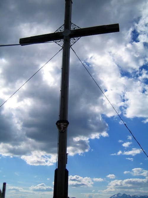 Grießkareck summit cross