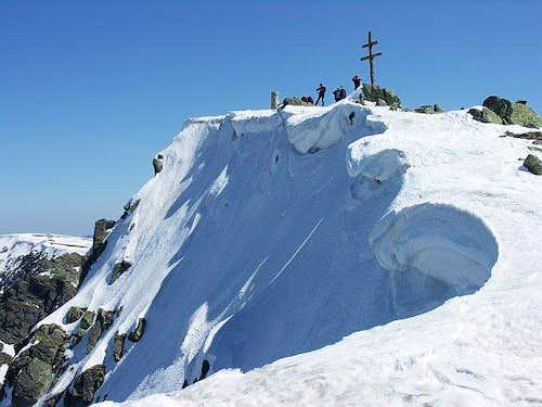 Nizke Tatry - Dumbier summit