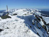 Nizke Tatry - Dumbier summit panorama