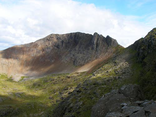 Crib Goch from Clogwyn y Person