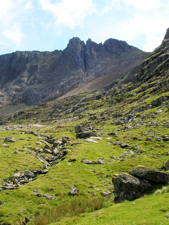 The Pinnacles of Crib Goch