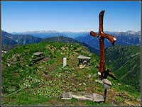 Findenigkofel / Monte Lodin summit