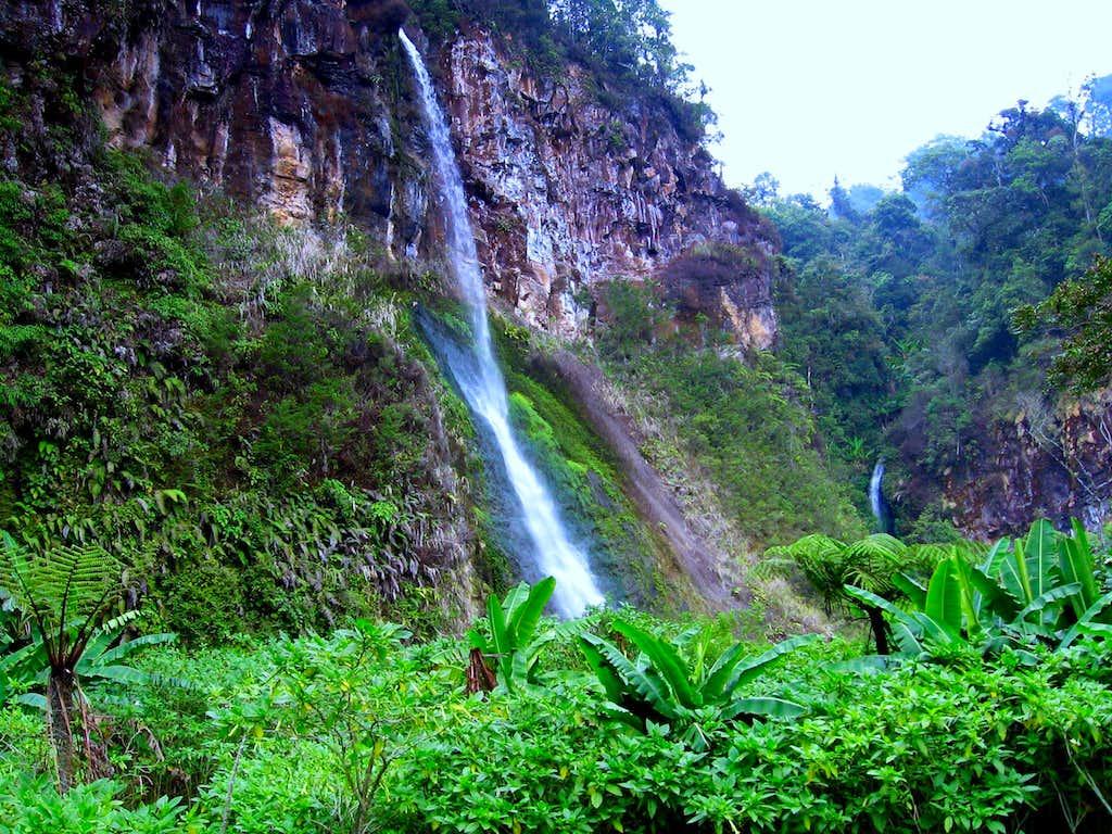 Sumatran Waterfall