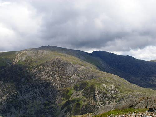 Glyders from Snowdon