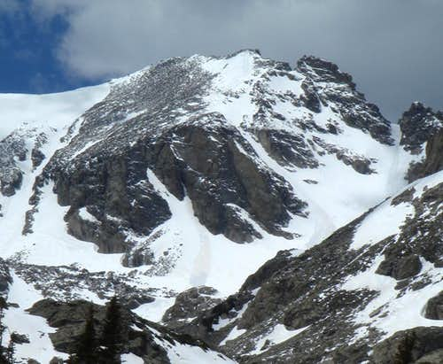 Queens Way Avalanche - Apache Peak, CO - May 25 2007
