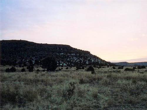 Black Mesa (1,517 m - 4,975...