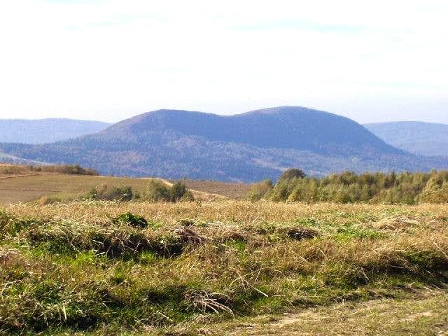 Przymiarki - Summit Vistas ( View of Cergowa - 716 m)