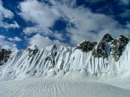 Snow lake Karakoram