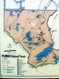 Plumas NF sign